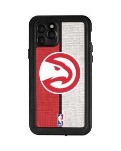 Atlanta Hawks Canvas iPhone 11 Pro Waterproof Case