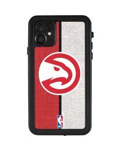 Atlanta Hawks Canvas iPhone 11 Waterproof Case