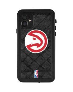 Atlanta Hawks Dark Rust iPhone 11 Waterproof Case