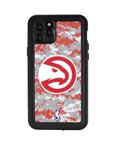 Atlanta Hawks Digi Camo iPhone 11 Pro Max Waterproof Case
