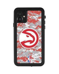 Atlanta Hawks Digi Camo iPhone 11 Waterproof Case