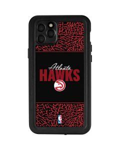 Atlanta Hawks Elephant Print iPhone 11 Pro Max Waterproof Case