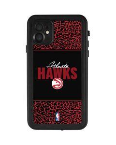 Atlanta Hawks Elephant Print iPhone 11 Waterproof Case