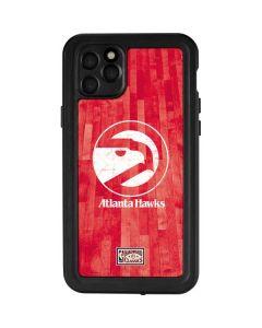 Atlanta Hawks Hardwood Classics iPhone 11 Pro Max Waterproof Case