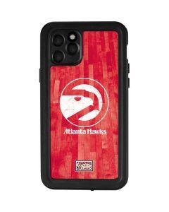 Atlanta Hawks Hardwood Classics iPhone 11 Pro Waterproof Case