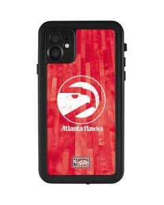 Atlanta Hawks Hardwood Classics iPhone 11 Waterproof Case
