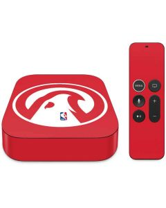 Atlanta Hawks Largo Logo Apple TV Skin