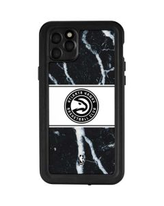 Atlanta Hawks Marble iPhone 11 Pro Max Waterproof Case