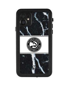 Atlanta Hawks Marble iPhone 11 Waterproof Case