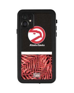Atlanta Hawks Retro Palms iPhone 11 Waterproof Case