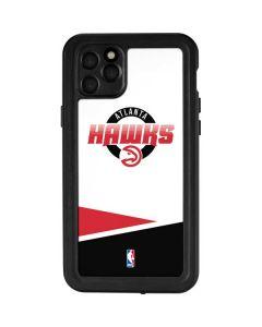 Atlanta Hawks Split iPhone 11 Pro Max Waterproof Case