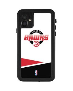 Atlanta Hawks Split iPhone 11 Waterproof Case