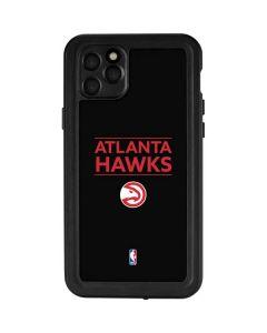 Atlanta Hawks Standard - Black iPhone 11 Pro Max Waterproof Case
