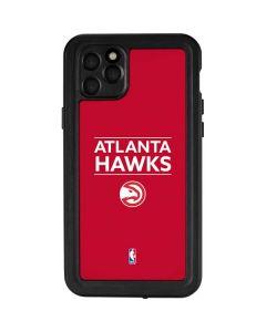 Atlanta Hawks Standard - Red iPhone 11 Pro Max Waterproof Case