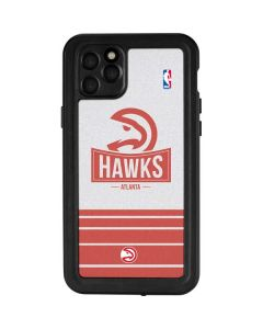 Atlanta Hawks Static iPhone 11 Pro Max Waterproof Case