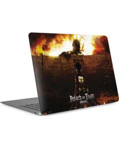 Attack On Titan Fire Apple MacBook Air Skin