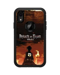 Attack On Titan Fire Otterbox Defender iPhone Skin
