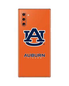 Auburn Tigers Orange Galaxy Note 10 Skin