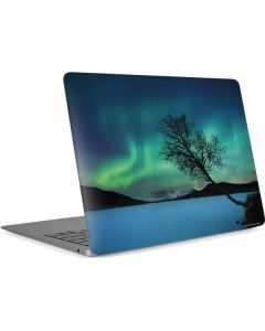 Aurora Borealis over Sandvannet Lake Apple MacBook Air Skin