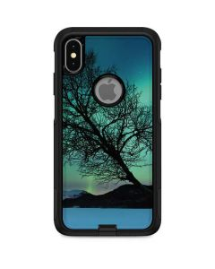 Aurora Borealis over Sandvannet Lake Otterbox Commuter iPhone Skin