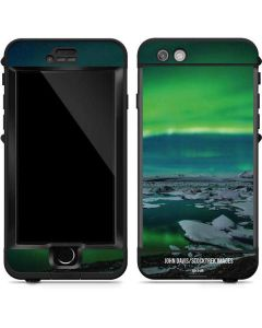 Aurora Borealis Over The Glacial Lagoon Jokulsarlon in Iceland LifeProof Nuud iPhone Skin