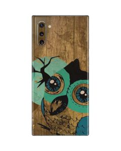 Autumn Owl Galaxy Note 10 Skin
