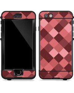 Autumn Red Geometric LifeProof Nuud iPhone Skin