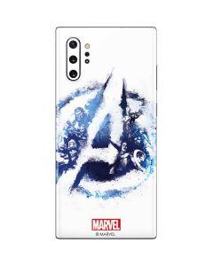 Avengers Blue Logo Galaxy Note 10 Plus Skin
