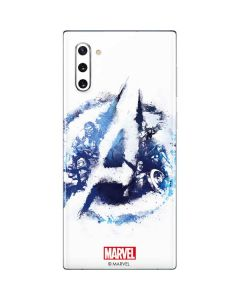 Avengers Blue Logo Galaxy Note 10 Skin