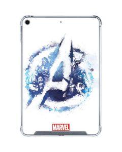 Avengers Blue Logo iPad Mini 5 (2019) Clear Case