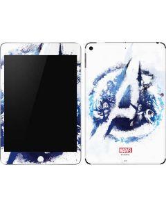 Avengers Blue Logo Apple iPad Mini Skin