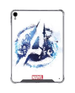 Avengers Blue Logo iPad Pro 11in (2018-19) Clear Case