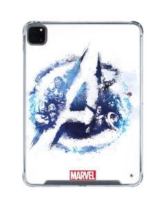 Avengers Blue Logo iPad Pro 11in (2020) Clear Case