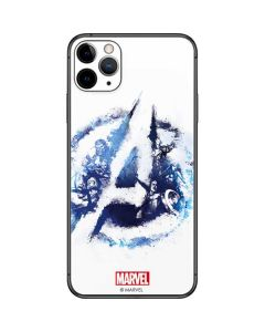 Avengers Blue Logo iPhone 11 Pro Max Skin