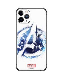 Avengers Blue Logo iPhone 11 Pro Skin