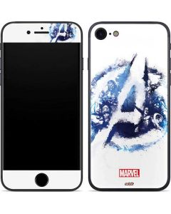 Avengers Blue Logo iPhone SE Skin