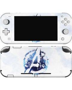 Avengers Blue Logo Nintendo Switch Lite Skin