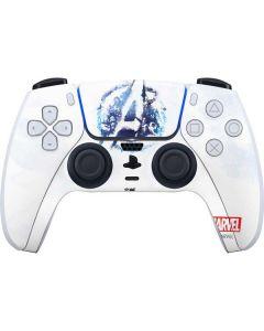 Avengers Blue Logo PS5 Controller Skin