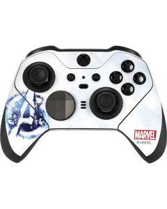 Avengers Blue Logo Xbox Elite Wireless Controller Series 2 Skin