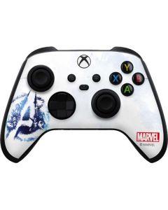 Avengers Blue Logo Xbox Series X Controller Skin