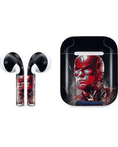 Avengers Endgame Captain America Apple AirPods Skin