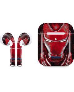 Avengers Endgame Ironman Apple AirPods 2 Skin