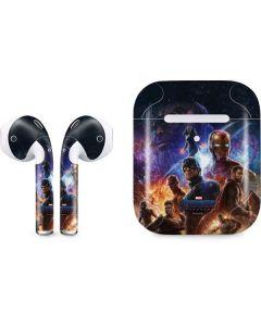 Avengers Endgame Ready for Action Apple AirPods 2 Skin