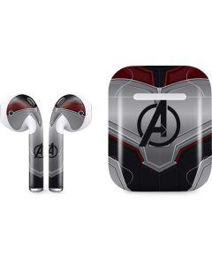 Avengers Endgame Suit Apple AirPods Skin