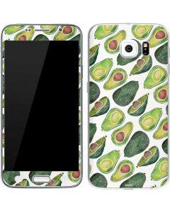 Avocados Galaxy S6 Skin