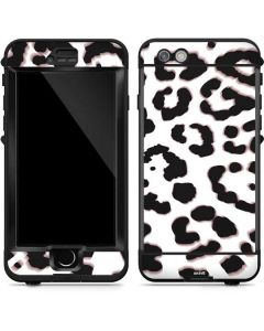 B&W Leopard LifeProof Nuud iPhone Skin