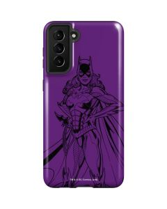 Batgirl Comic Pop Galaxy S21 Plus 5G Case