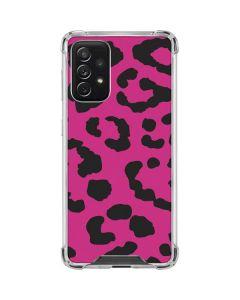 Rosy Leopard Galaxy A72 5G Clear Case