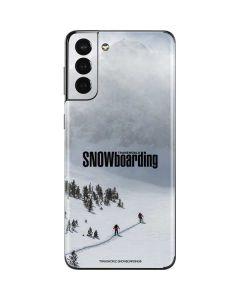 TransWorld SNOWboarding Snow Galaxy S21 Plus 5G Skin
