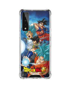 Goku Vegeta Super Ball LG Stylo 7 5G Clear Case